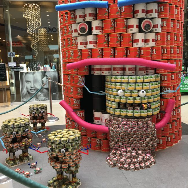 Canstruction Victoria The Silence of the Lambs