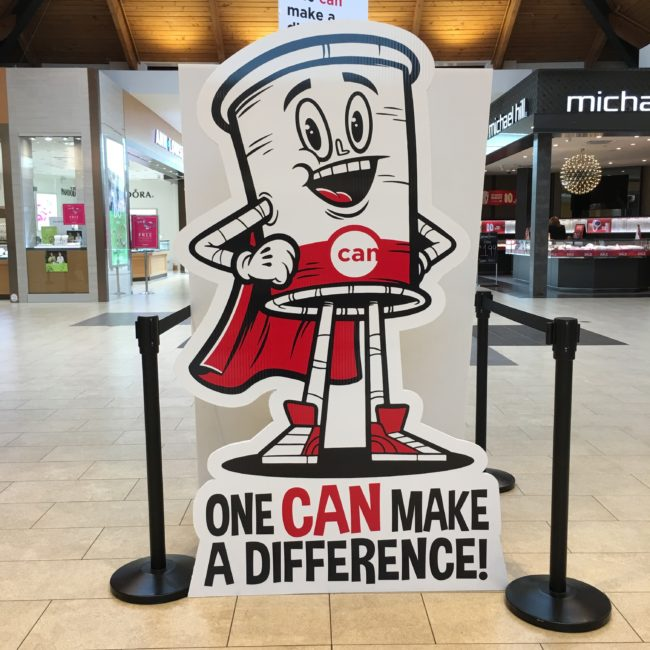 Canstruction Victoria You CAN