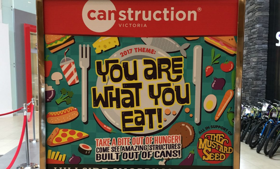 Canstruction Victoria 2017