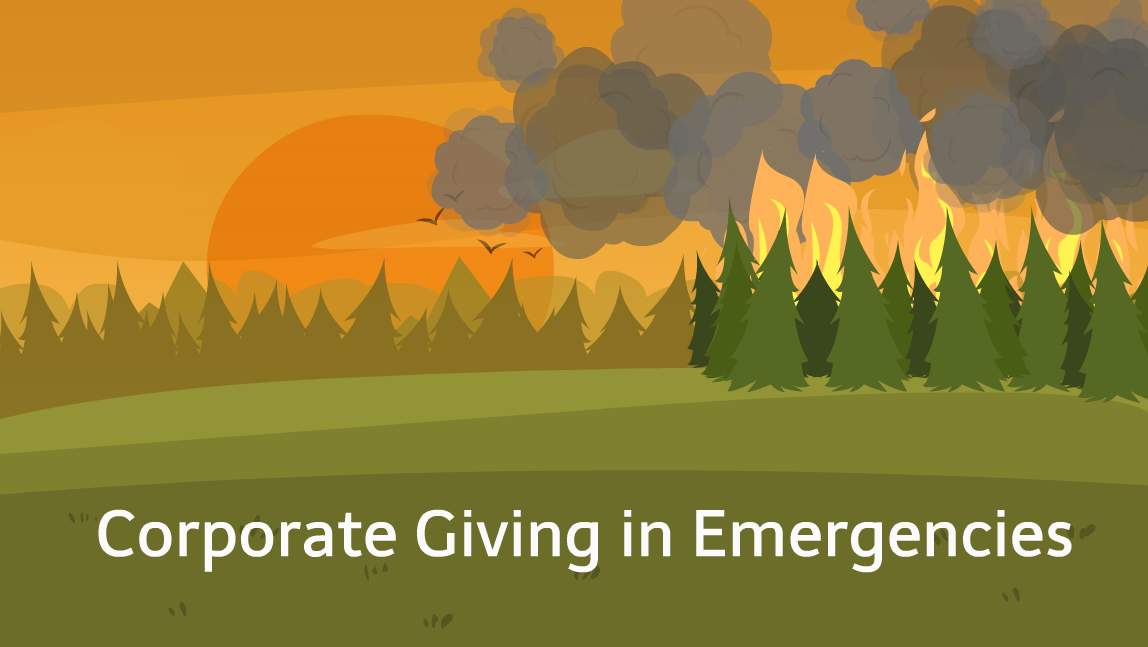 Corporate Giving BC Wildfires