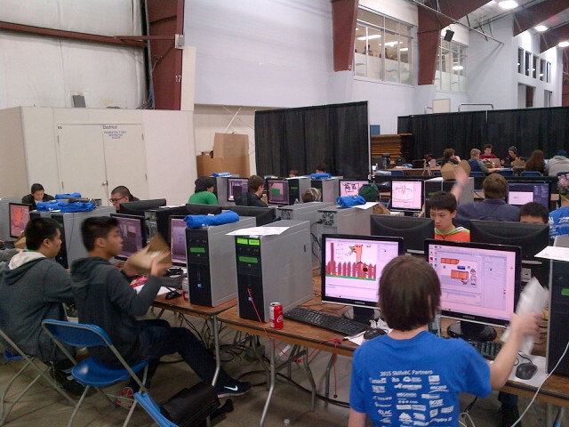Computers provided by BC Tech for Learning to Skills Canada for their youth competition